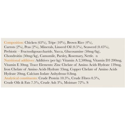 Forthglade Complete Meal Adult  Dog - Chicken with Tripe
