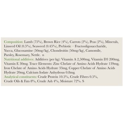 Forthglade Complete Meal Adult Dog - Lamb with Brown Rice