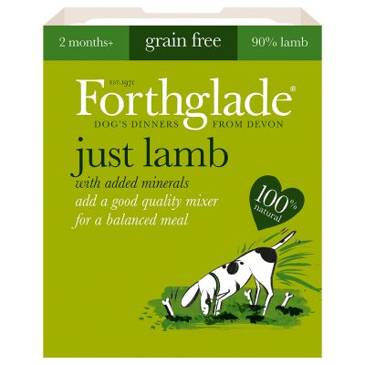 Forthglade Just 90% Complementary Meal - Lamb