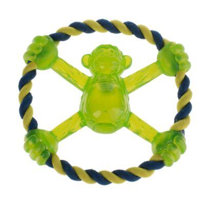 Frisbee pro psy Flashing Monkey 2in1