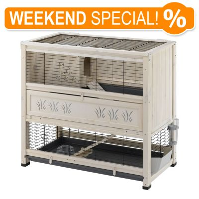 Offerta weekend special gabbia ferplast cottage zooplus for Cottage molto piccoli