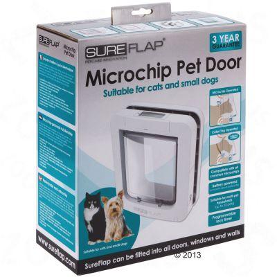 Gattaiola sureflap microchip zooplus for Porta basculante per cani grandi con microchip