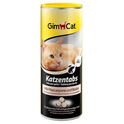 GimCat Pastilles mascarpone, biotine pour chat