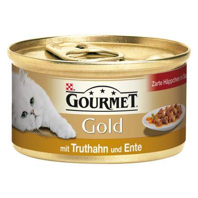 Gourmet Gold jemné kousky 12 x 85 g