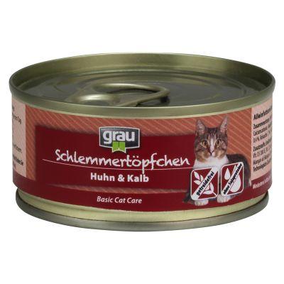 Grau Gourmet sin cereales 6 x 100 g