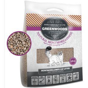 greenwoods montmorillonit ultraleichte naturtonstreu. Black Bedroom Furniture Sets. Home Design Ideas