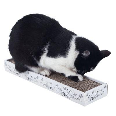 multi scratch griffoir en carton pour chat zooplus. Black Bedroom Furniture Sets. Home Design Ideas