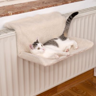 relax hamac de radiateur pour chat zooplus. Black Bedroom Furniture Sets. Home Design Ideas