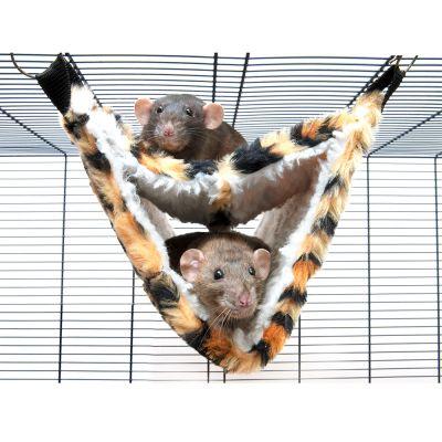 Hamaca Savic Relax de Luxe Fake Fur para hurones y ratas