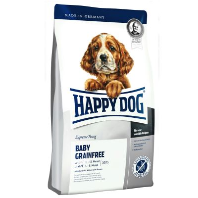 happy dog supreme baby grain free dry dog food free p p 29. Black Bedroom Furniture Sets. Home Design Ideas