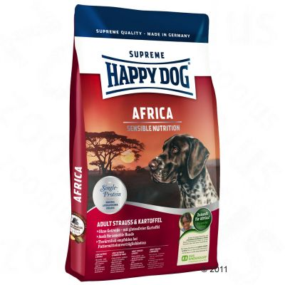 happy dog supreme afrika struisvogel aardappel. Black Bedroom Furniture Sets. Home Design Ideas