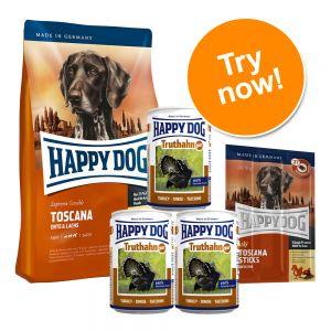 happy dog supreme sensible toscana dog food trial pack. Black Bedroom Furniture Sets. Home Design Ideas