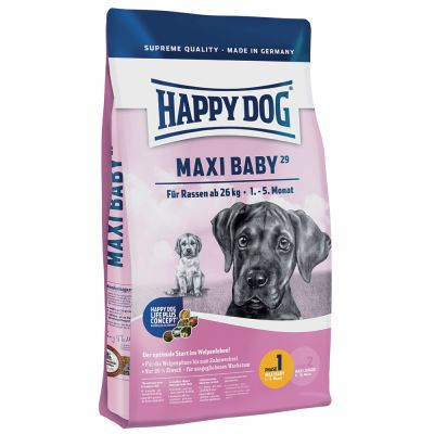 happy dog supreme young maxi baby faza 1 tanio w zooplus. Black Bedroom Furniture Sets. Home Design Ideas