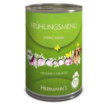 Herrmanns Bio jarní menu