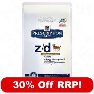 Hill 180 S Prescription Diet Canine Z D Ultra Allergen Free