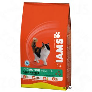Iams Proactive Health Adult Cats Hairball Roast Chicken