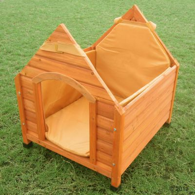 Insulation for dog kennel trixie natura great deals at for Trixie dog house insulation