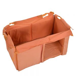 Insulation for trixie natura flat roof dog kennel great for Trixie dog house insulation