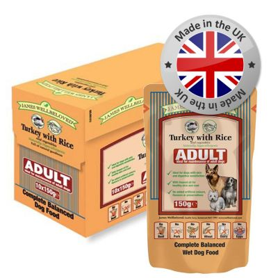 James Wellbeloved Pouches Dog Food Great Deals At