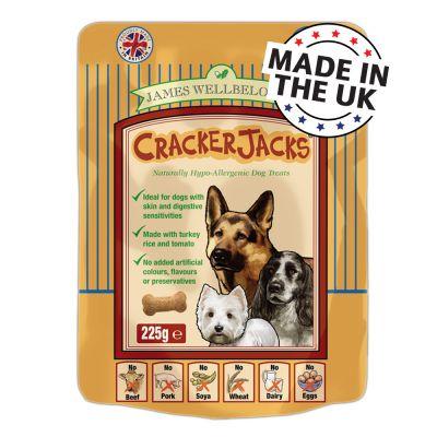 James Wellbeloved CrackerJacks Dog Treats 225g
