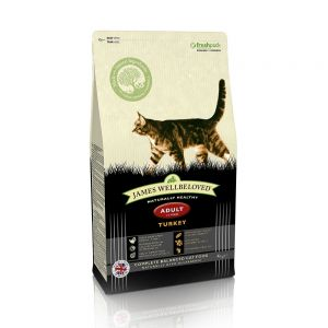 James Wellbeloved cat food