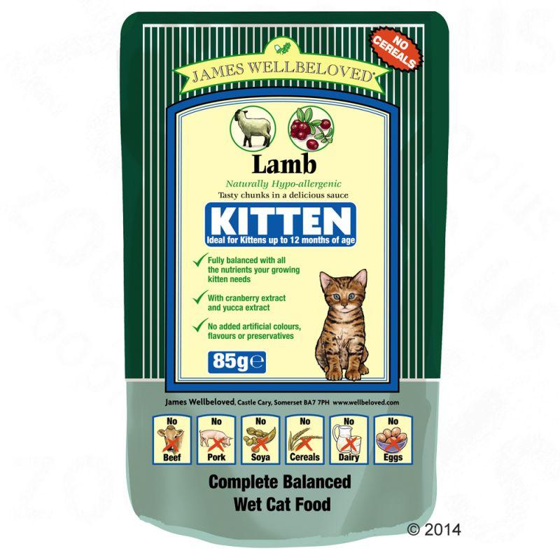 James Wellbeloved Grain Free Wet Cat Food