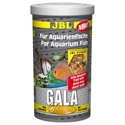 Great deals on fish food at zooplus jbl gala flake food for Purina tropical fish food