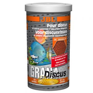 Jbl fish food at zooplus jbl grana discus granules for Discus fish food