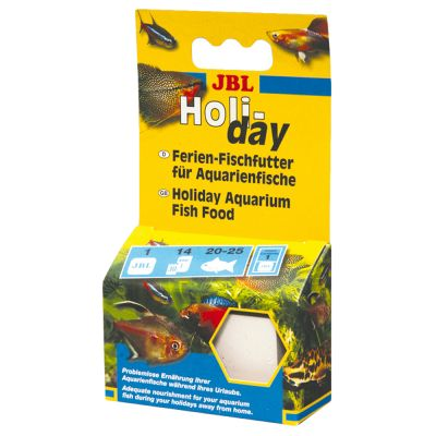 Jbl holiday fish food free p p on orders 29 at zooplus for Purina tropical fish food