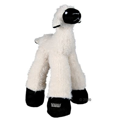 brebis en peluche jouet pour chien zooplus. Black Bedroom Furniture Sets. Home Design Ideas