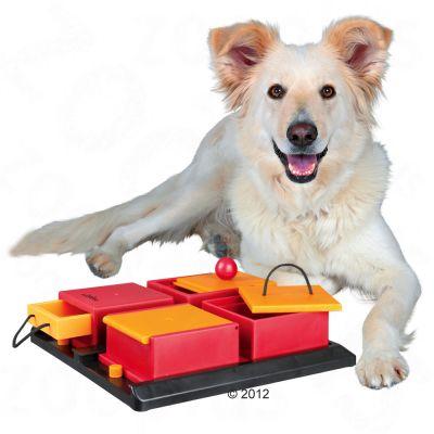 dog activity poker box jeu d 39 intelligence pour chien zooplus. Black Bedroom Furniture Sets. Home Design Ideas