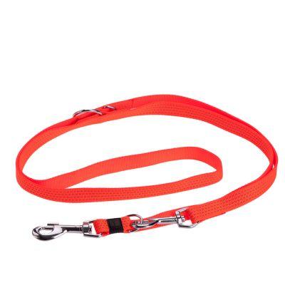 Karlie Reflective Dog Lead - Neon Orange