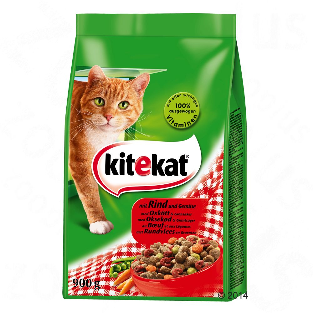 Kitekat croquettes pour chat