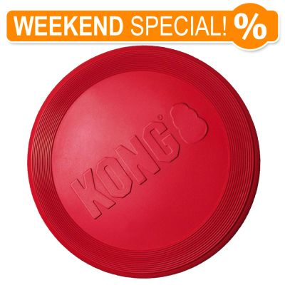 Kong Flyer Dog Frisbee Free P Amp P On Orders 163 29 At Zooplus