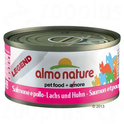 Økonomipakke: Almo Nature Classic & Legend 48 x 70 g