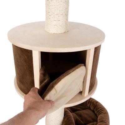 kratzbaum deckenspanner natural paradise xl. Black Bedroom Furniture Sets. Home Design Ideas
