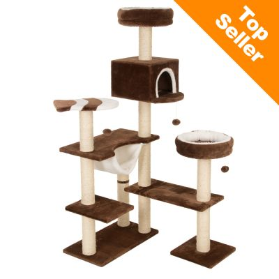 kratzbaum knusperh uschen g nstig kaufen bei zooplus. Black Bedroom Furniture Sets. Home Design Ideas