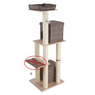 kratzbaum kratzm bel gro g nstig bei zooplus kratzbaum oxford ii. Black Bedroom Furniture Sets. Home Design Ideas