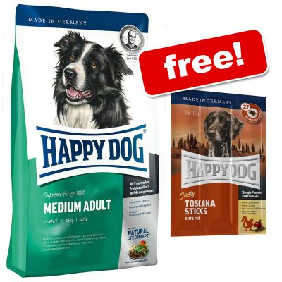 Large Bag Happy Dog Supreme 6x Happy Dog Toscana Tasty