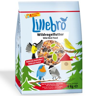 Lillebro mangime per uccelli selvatici