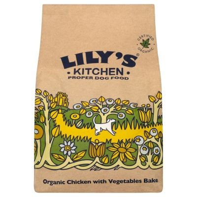 Lily S Kitchen Organic Chicken Amp Vegetable Bake Dry Dog Food