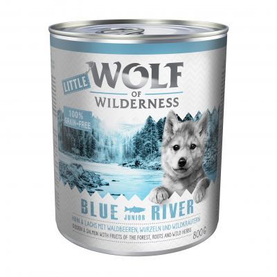 Little Wolf of Wilderness Junior 6 x 800 g