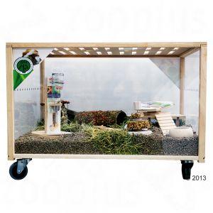Living World Green Eco Habitat Hamster Central