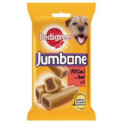 Lot d'os à mâcher Pedigree Jumbone pour chien - friandises