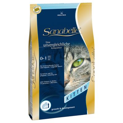lot sanabelle 2 x 10 kg croquettes pour chat zooplus. Black Bedroom Furniture Sets. Home Design Ideas