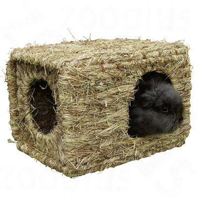 maison en herbe s ch e pour rongeur et lapin xl prix avantageux chez zooplus. Black Bedroom Furniture Sets. Home Design Ideas