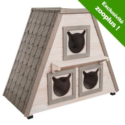 madeira maisonnette pour chat zooplus. Black Bedroom Furniture Sets. Home Design Ideas