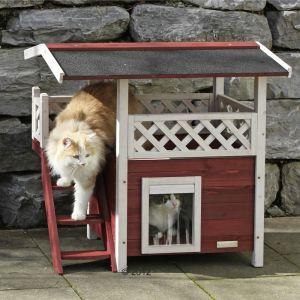 maisonnette exterieur chats forum animaux. Black Bedroom Furniture Sets. Home Design Ideas