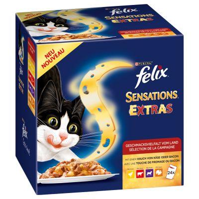 felix sensations w galarecie karma mokra dla kota tanio w. Black Bedroom Furniture Sets. Home Design Ideas