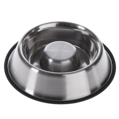 Miska z ušlechtilé oceli redukující hltání